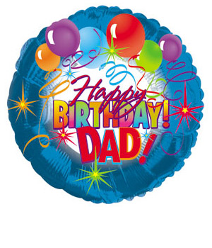 ../Wish your Dad a Happy Birthday with this 18 inch helium balloon.
