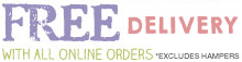 Free delivery and chocolates with all online orders